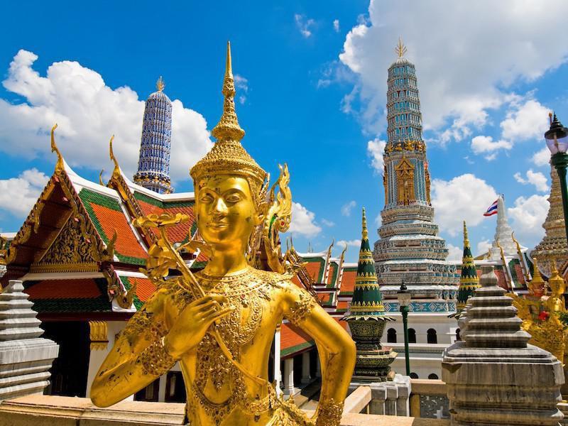 Банкок, столицата на Тайланд
