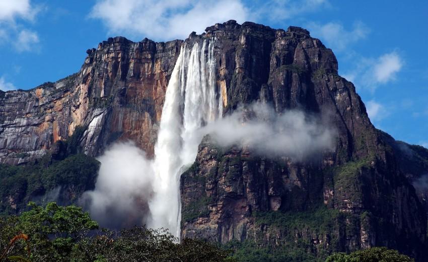 Водопада Анхел, Венецуела