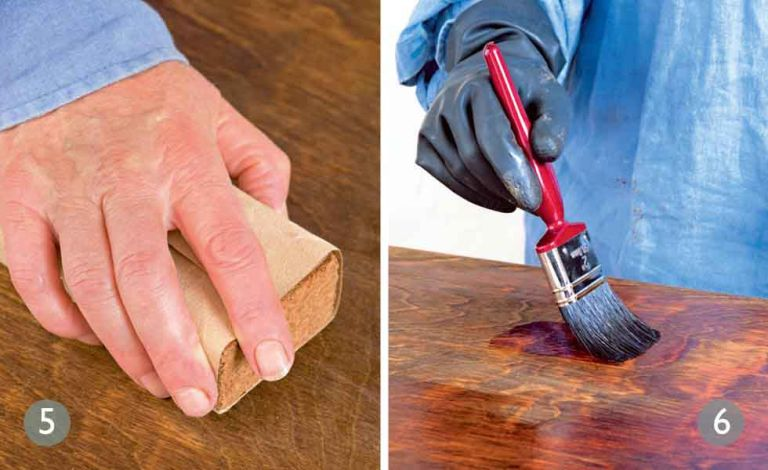 Шкуренето и боядисването на старите мебели ще придадат нов живот на дървото.