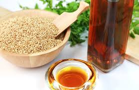 Сусамовото олио е много полезно. Можем да го ползваме за най-различни неща, най-вече да си овкусяваме пресните салати.