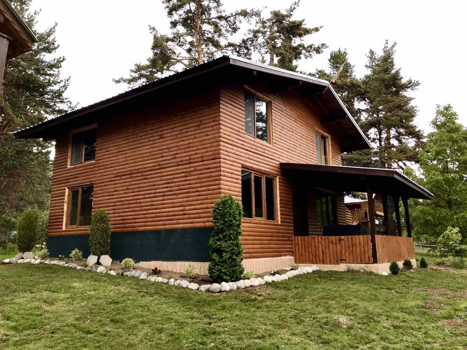 Как да направим красива дървена вила