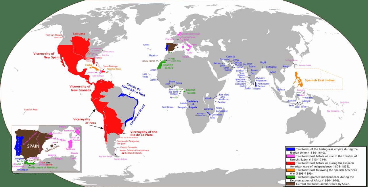 Испанската империя - най-великите империи в света