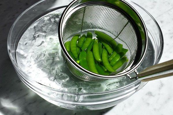 Как да бланшираме зелен фасул? бланширане на зелен фасул.