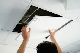 Монтаж на растерен окачен таван Армстронг. Как се прави окачен растерен таван Армстронг?