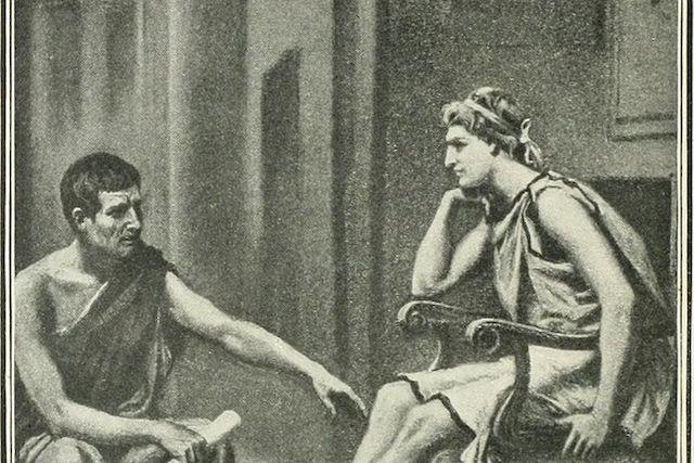 Александър Македонски е бил обучаван от Аристотел