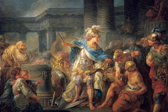 Александър Македонски е мислил нестандартно