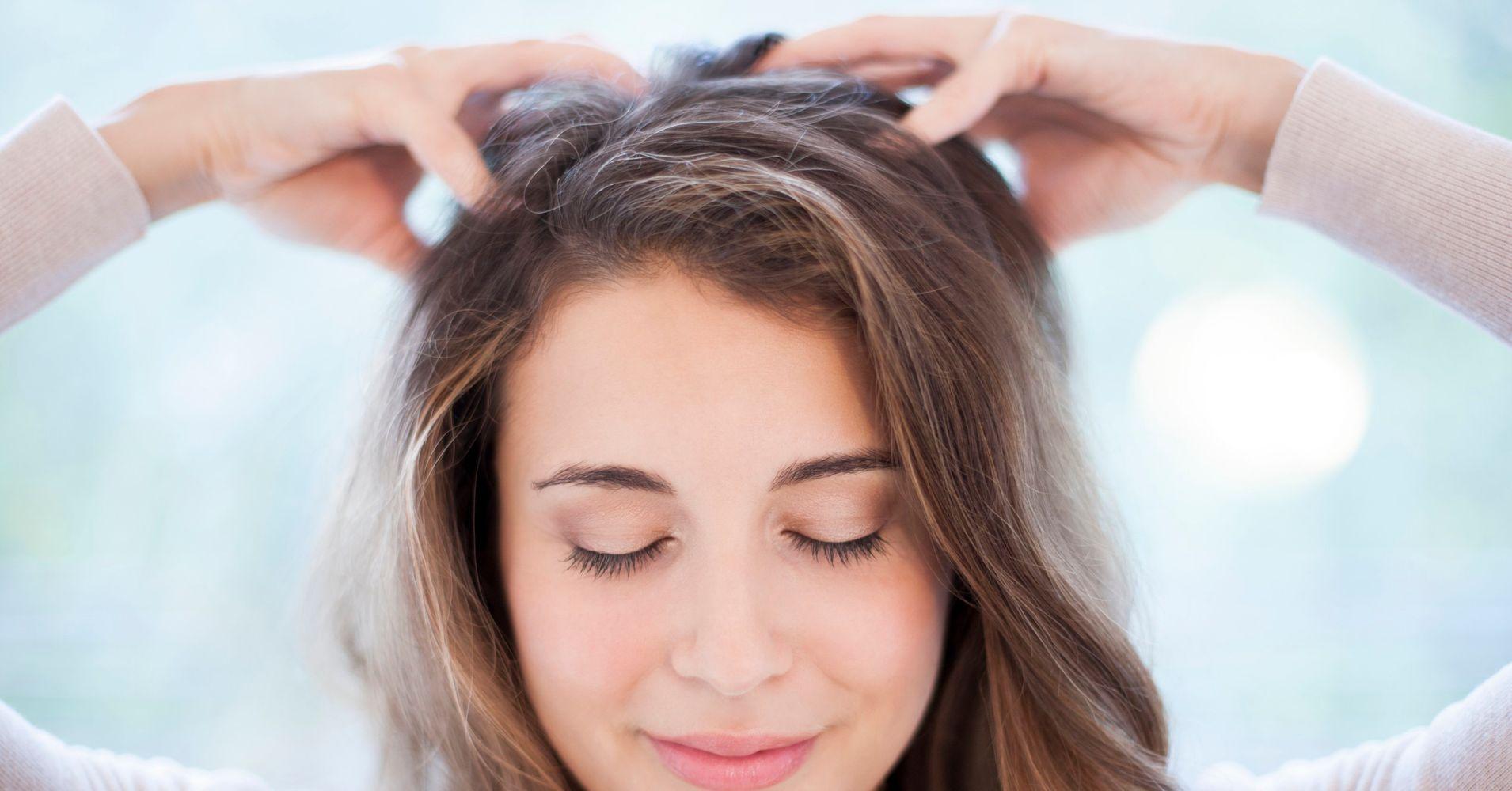 Масажирайте вашия скалп - как да накараме косата да расте.