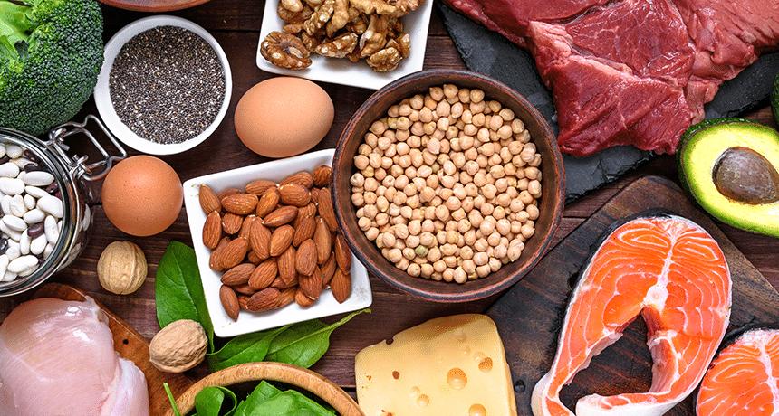 Фокусирайте се върху приема на протеини