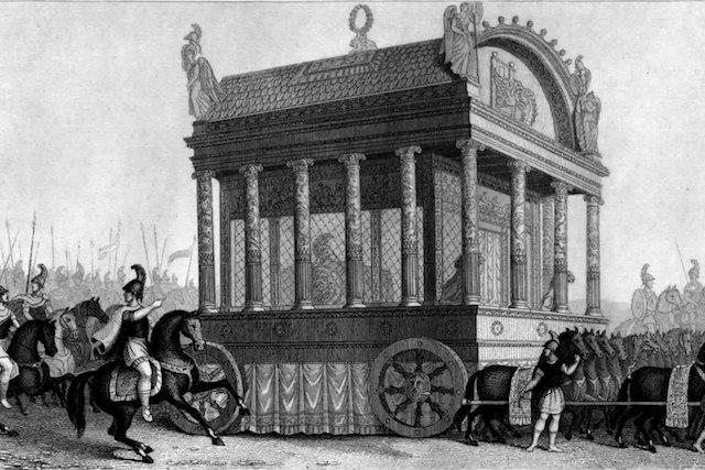 Тялото на Александър Македонски е било запазено в мед - 10 невероятни факти за Александър Велики.