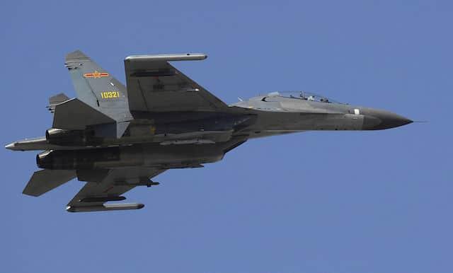 Най-силните военновъздушни сили в света - Китай
