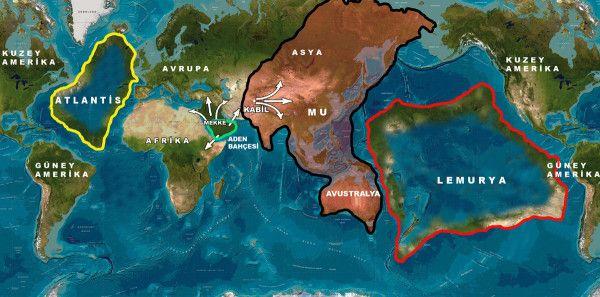 Лемурия - най-древните цивилизации в света