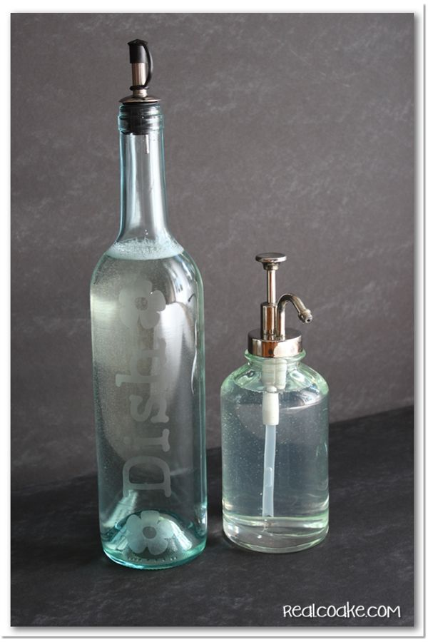 как да използваме празните бутилки - дозатор от бутилка за вино