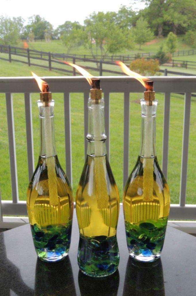 как да използваме празните бутилки