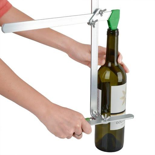 Домашен инструмент за рязане на стъклени бутилки