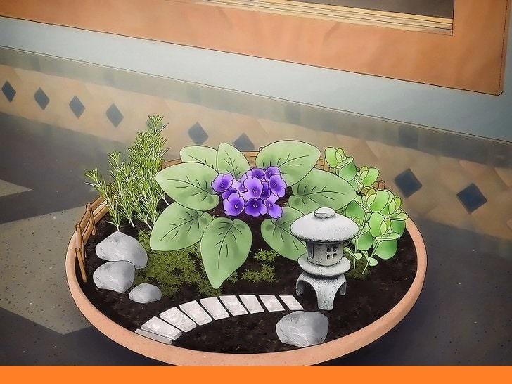 Поставянето на мини градината до прозорец - как да направим мини градинa.