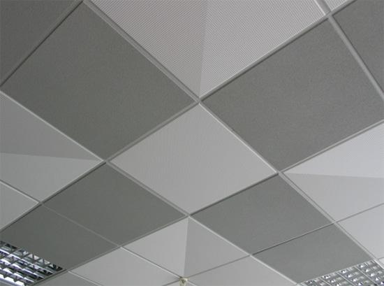Окачен таван, обновен с тапети. Как да подновим стария окачен таван?