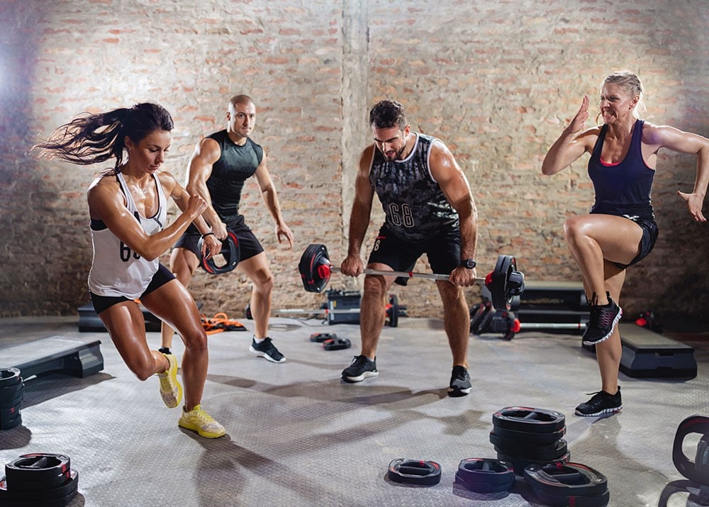 HIIT тренировки за отслабване - как да изчистим белия дроб
