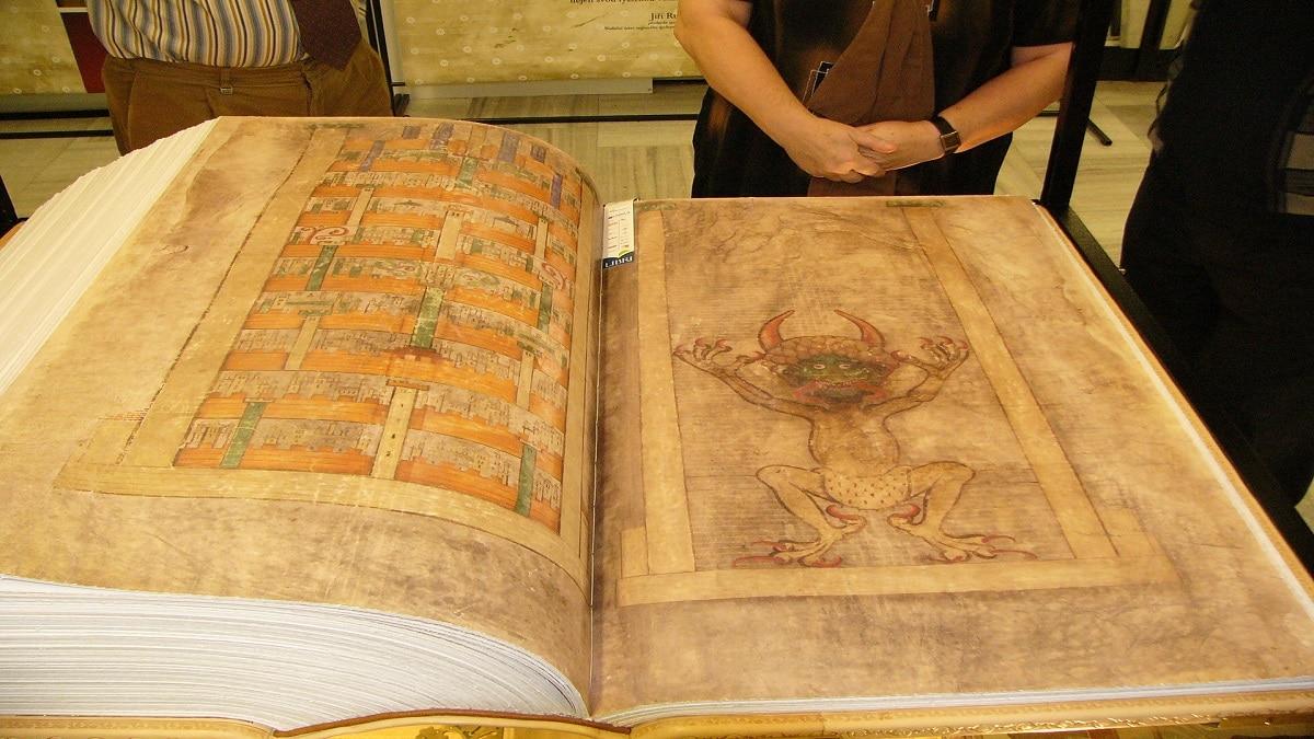Кодекс Гигас - странни и мистериозни археологически открития