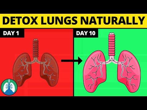 Как да изчистим белите дробове
