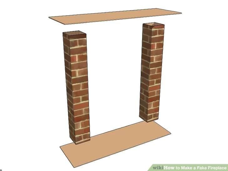 Фалшива камина от картон