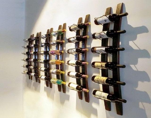 Стелаж за вино - как да изградим купонджийски бар
