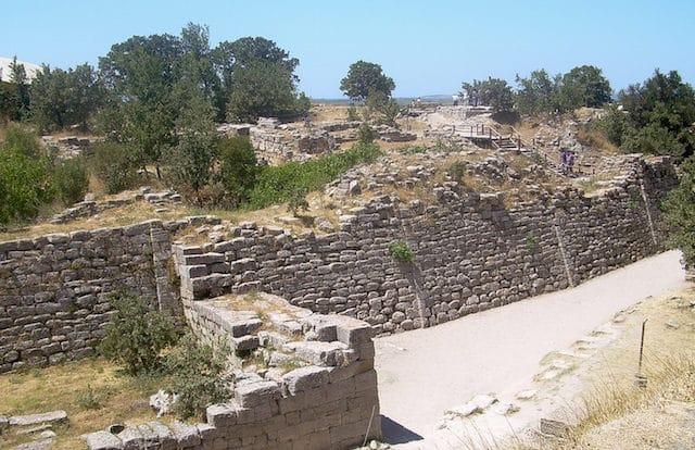 Градът на Троя