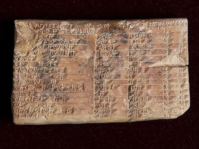 Най-старите доказателства за тригонометрия
