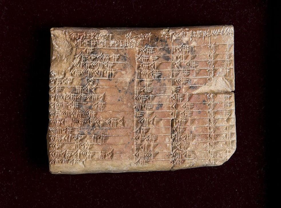 Най-старите доказателства за тригонометрия - 10-те най-големи археологически открития