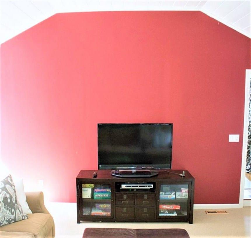 Преди - Изчистване на цветовете - Как да преобразим нашия хол