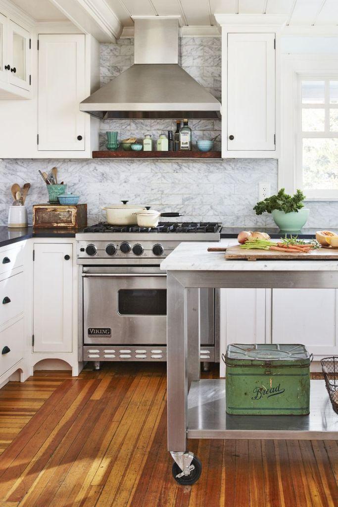 Инвестирайте в подвижна кухненска количка - как да направим малката кухня по-голяма