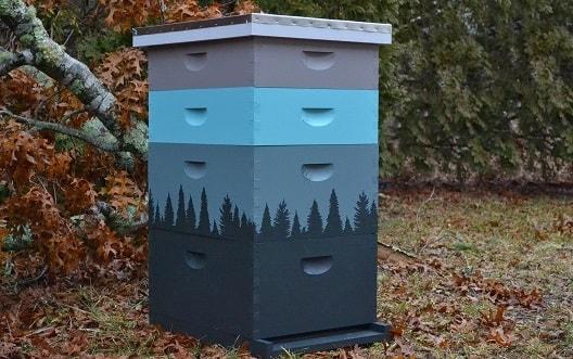 Как да боядисаме кошерите ни - боядисване на кошери. Как да подобрим живота на пчелите?