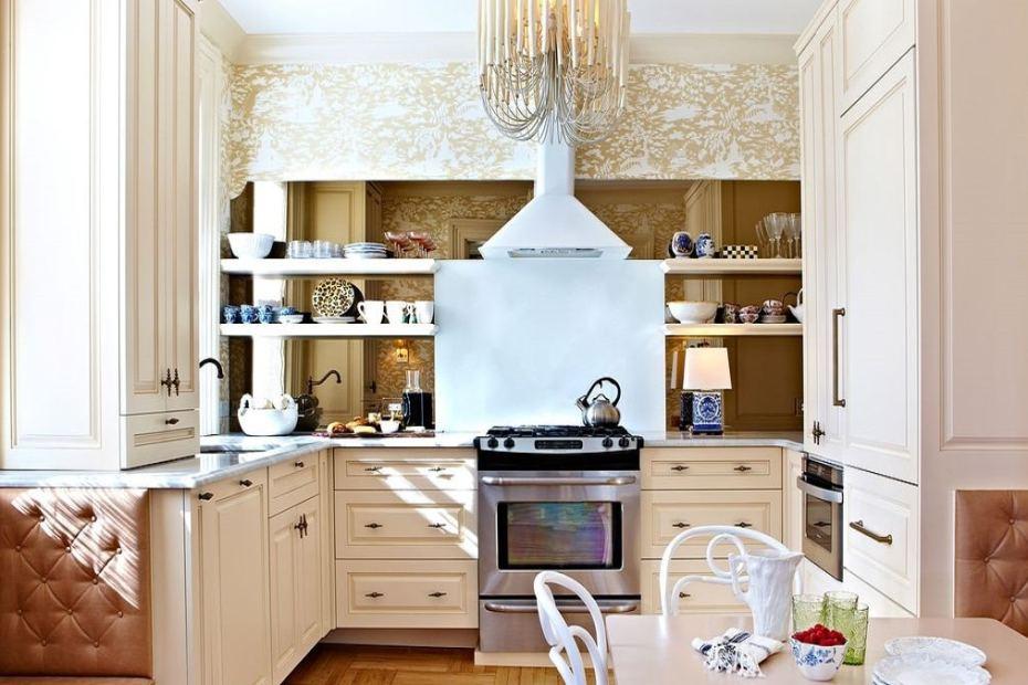 Как да направим малката кухня по-голяма - подходящи идеи
