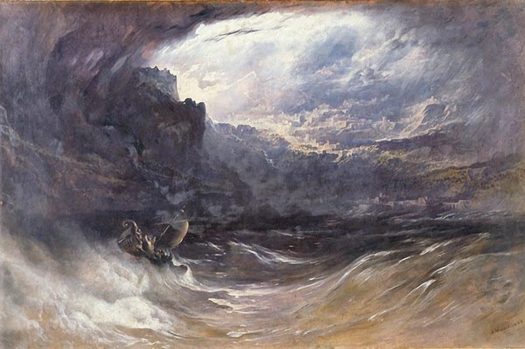 Потопът - картина от 1834 г. от Джон Мартин, изобразяваща Големия потоп на мита