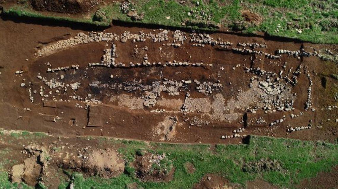 Богата къща за викинги от девети век в Исландия