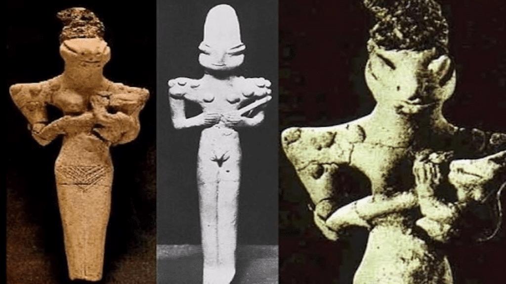 Рептилите на обаидската култура - мистериозни реликви от древните цивилизации