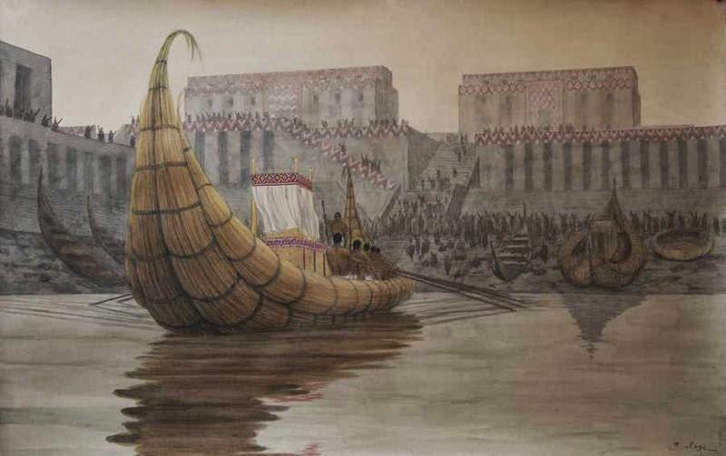 Пресъздаване на пристанището в град Ериду - интересни факти за Шумерската цивилизация