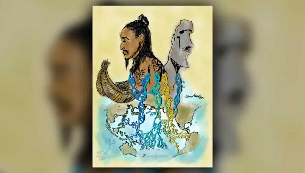 Полинезийците се срещат с индианците около 1150 г. сл. Хр
