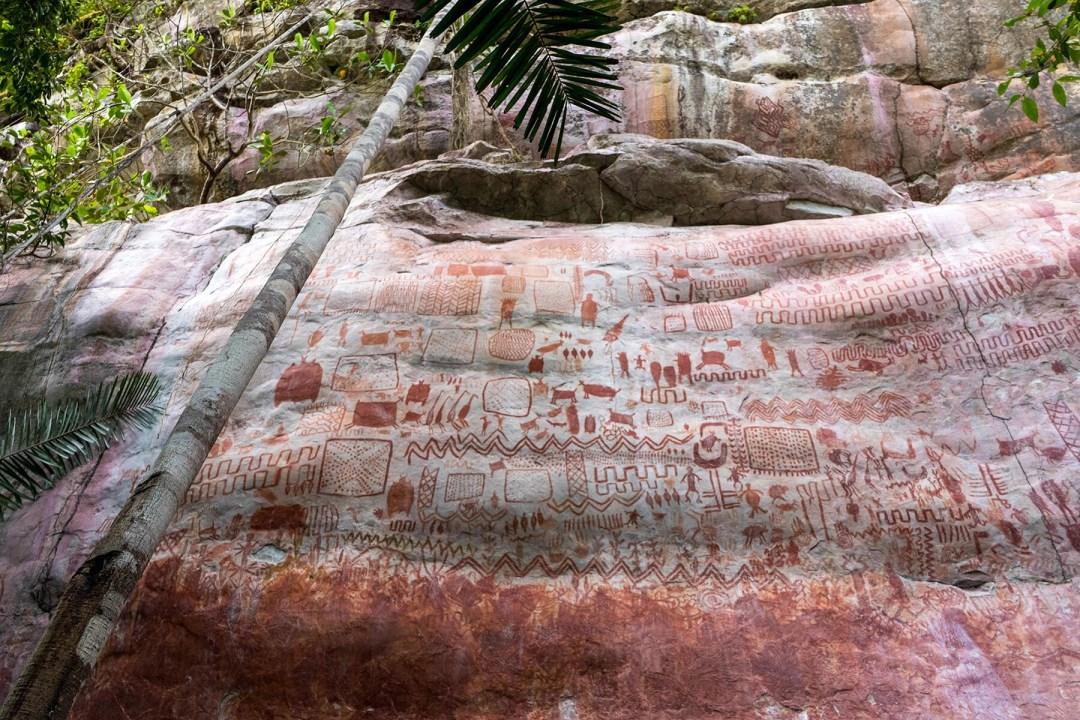 Амазонскo изкуство от ледниковата епоха