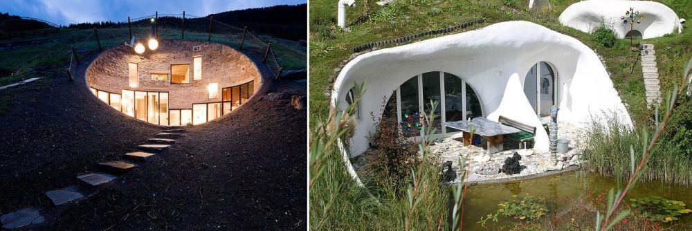 Къща в земята - как да построим евтина къща