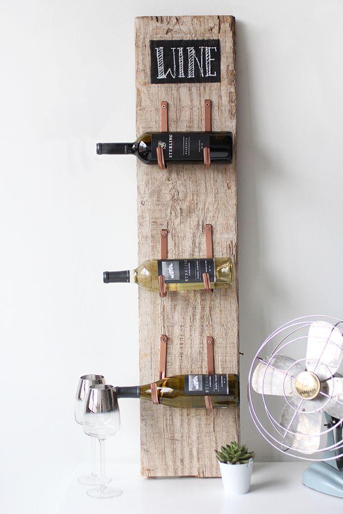 Поставка за вино от старата плевня - Как да направим рафтове за вино