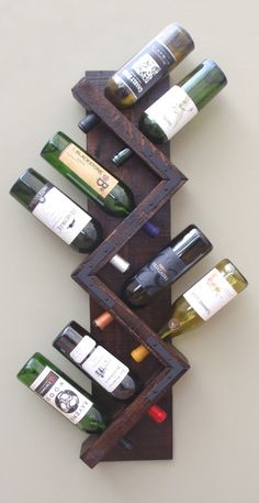 Как да направим дървен рафт за вино