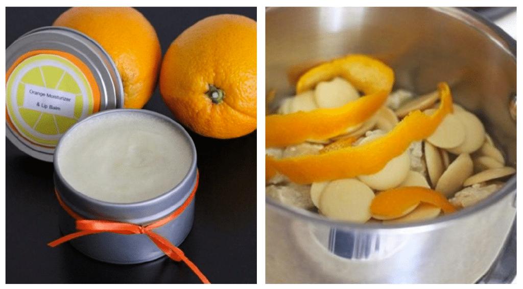 Балсам за уста от портокалови кори - как да използваме портокаловите корички