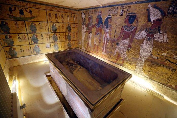 Гробницата на цар Тут - най-загадъчните археологически съкровища на Земята