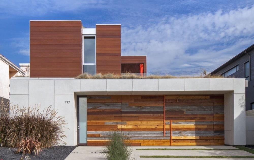 Къща от от вградени mnmMOD панели - как да построим евтина къща
