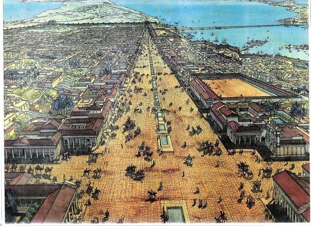 Александър Велики основава древния град Александрия