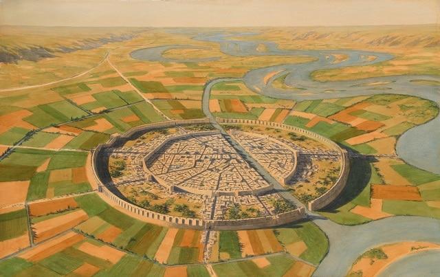 Град Мари се развива като търговска столица в Месопотамия - огромните мегаполиси на древния свят