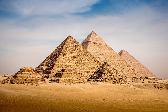 Пирамиди в Гиза