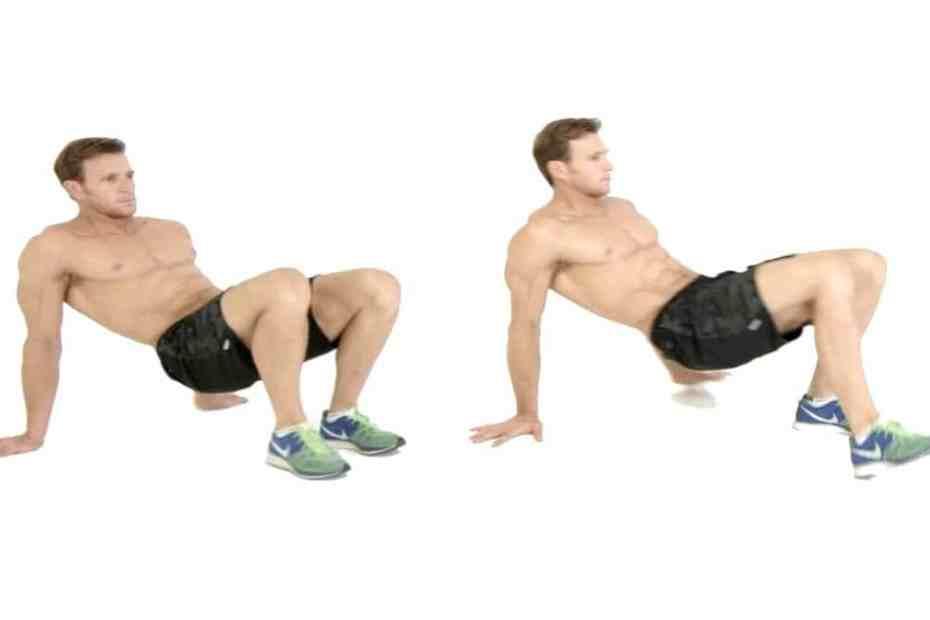 как да правим упражнение Рачешка походка