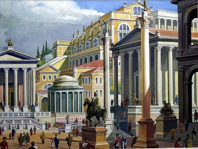 Рим достига своя древен пик на населението през II век сл. н. е. - огромните мегаполиси на древния свят
