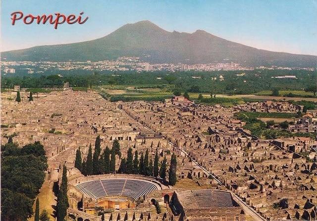 Помпей е един от най-проспериращите градове на Римската империя - огромните мегаполиси на древния свят